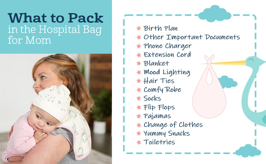 What to Pack in the Hospital Bag for Mom