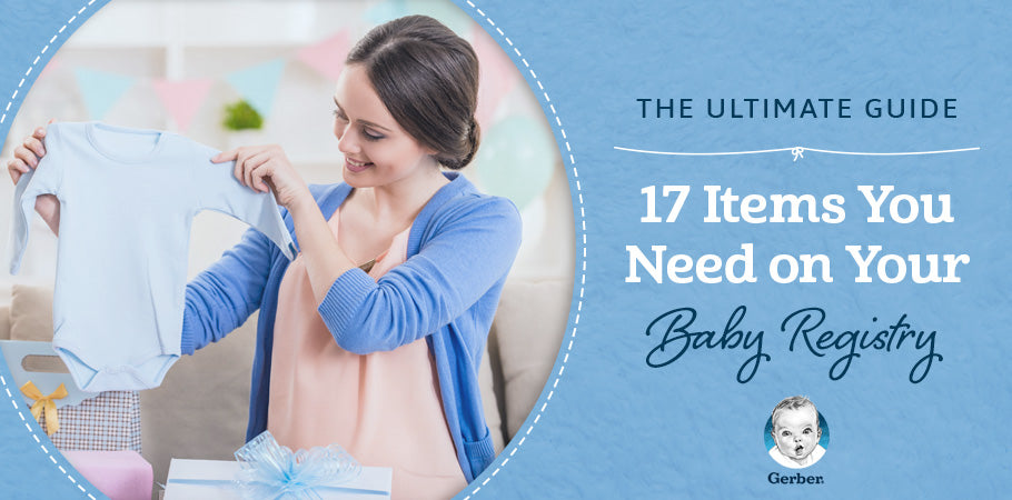 guide items you need on baby registry
