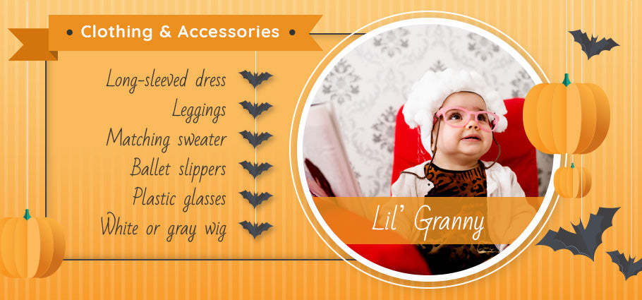 lil' granny clothing and accessories graphic