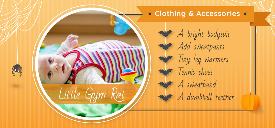 little gym rat clothing and accessories graphic