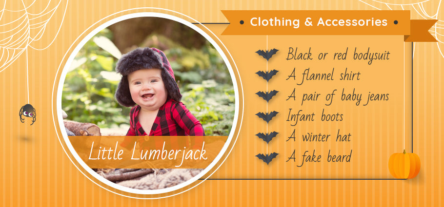 little lumberjack clothing and accessories graphic
