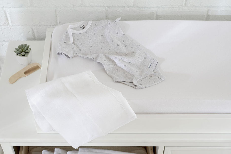 newborns clothes changing table