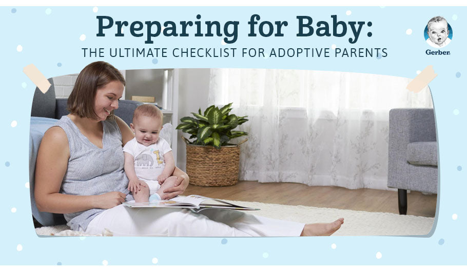 preparing for baby ultimate checklist adoptive parents