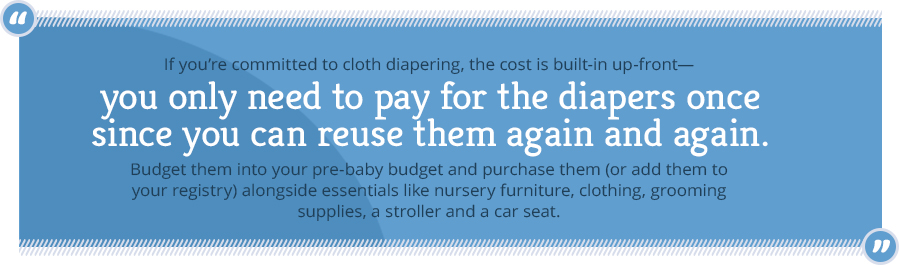 reusable diapers quote