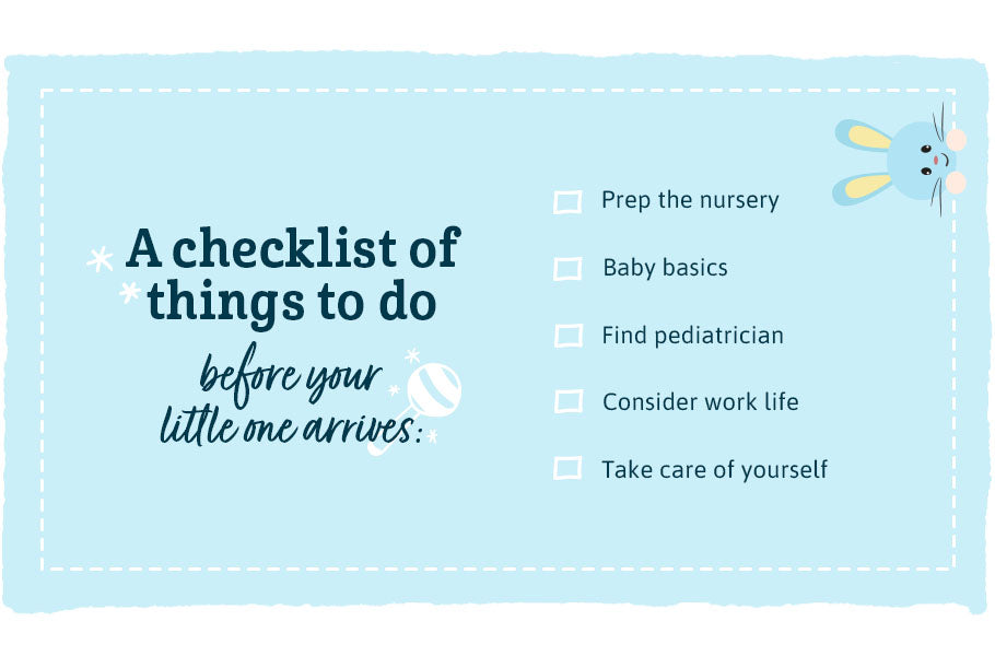 checklist things to do before newborn arrives