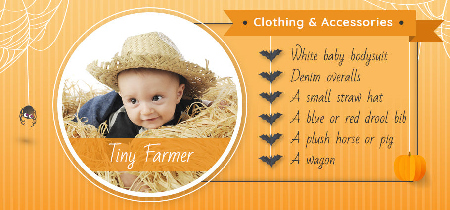tiny farmer clothing and accessories graphic