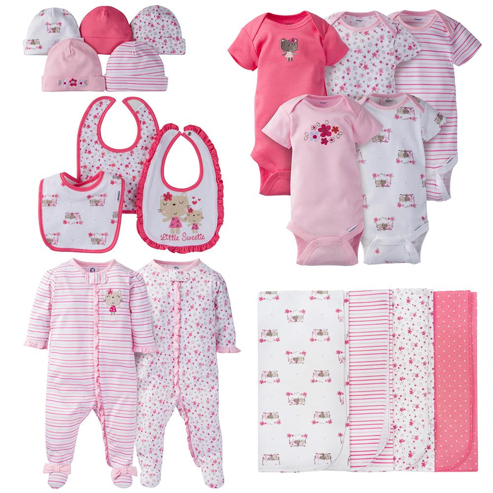 19-Piece Girls Bear Gift Set