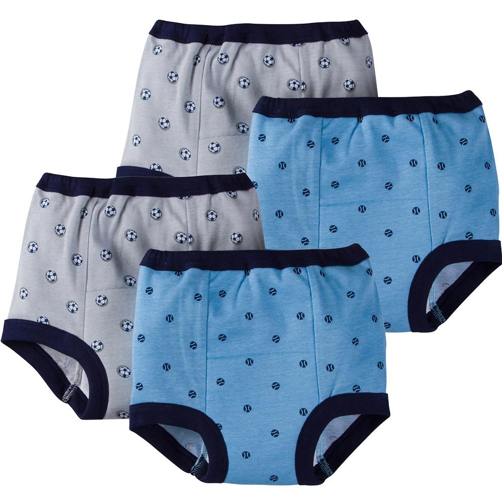 Gerber® 4-Pack Boys Sports Training Pants-Gerber Childrenswear