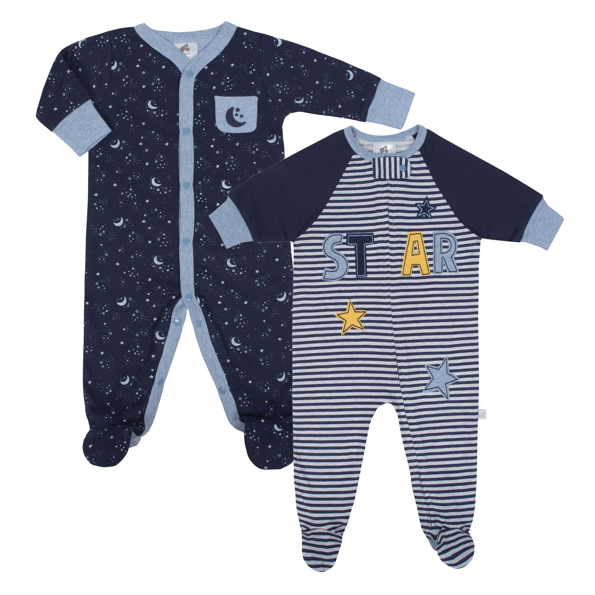 Just Born® Space 2-Pack Organic Sleep 'N Play-Gerber Childrenswear