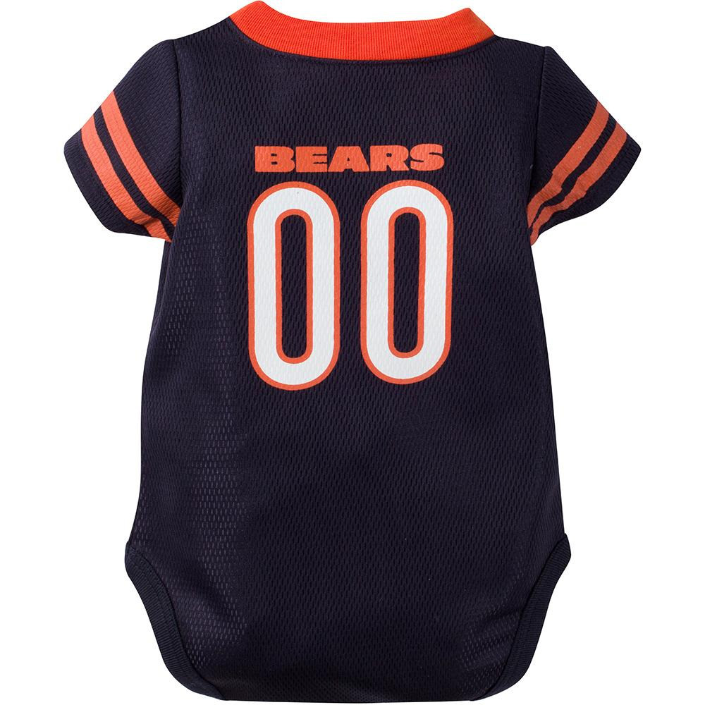 Chicago Bears Baby 1-Pack Jersey Bodysuit-Gerber Childrenswear
