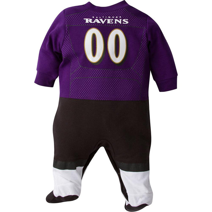 brand new ec46c 37965 Baltimore Ravens Baby 1-Pack Footysuit with Feet