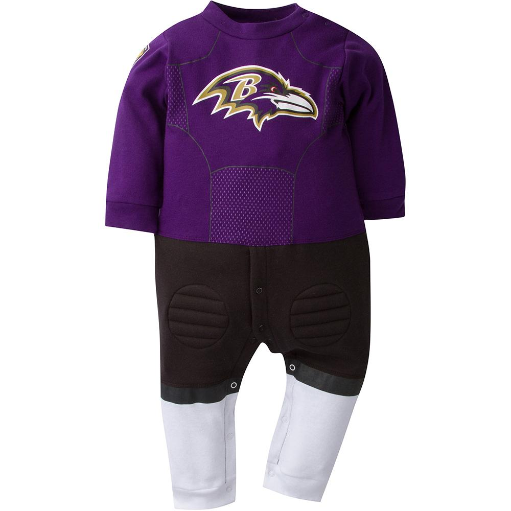 Baltimore Ravens Baby 1-Pack Footysuit