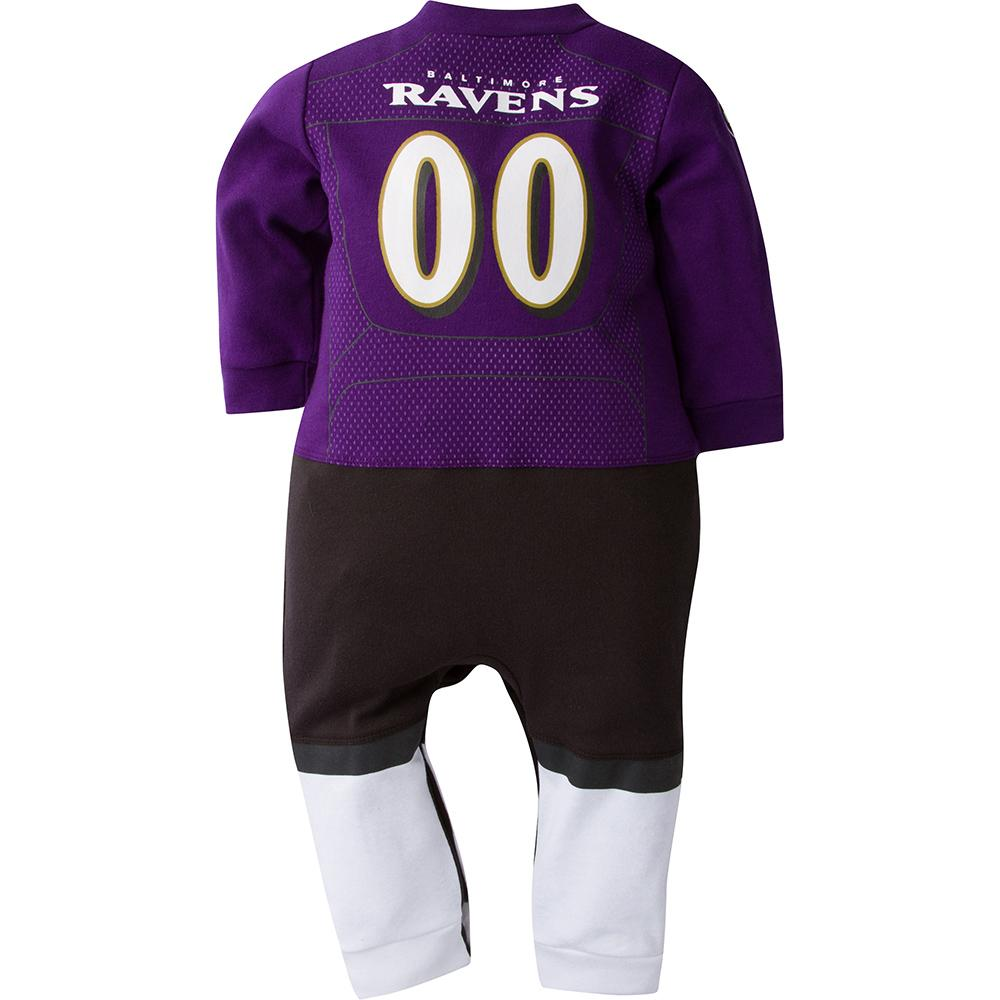 Baltimore Ravens Baby 1-Pack Footysuit-Gerber Childrenswear