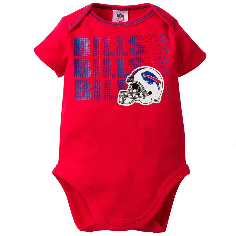 online retailer 51dbd 407fa Buffalo Bills Baby Boy 3-Pack Short Sleeve Bodysuits