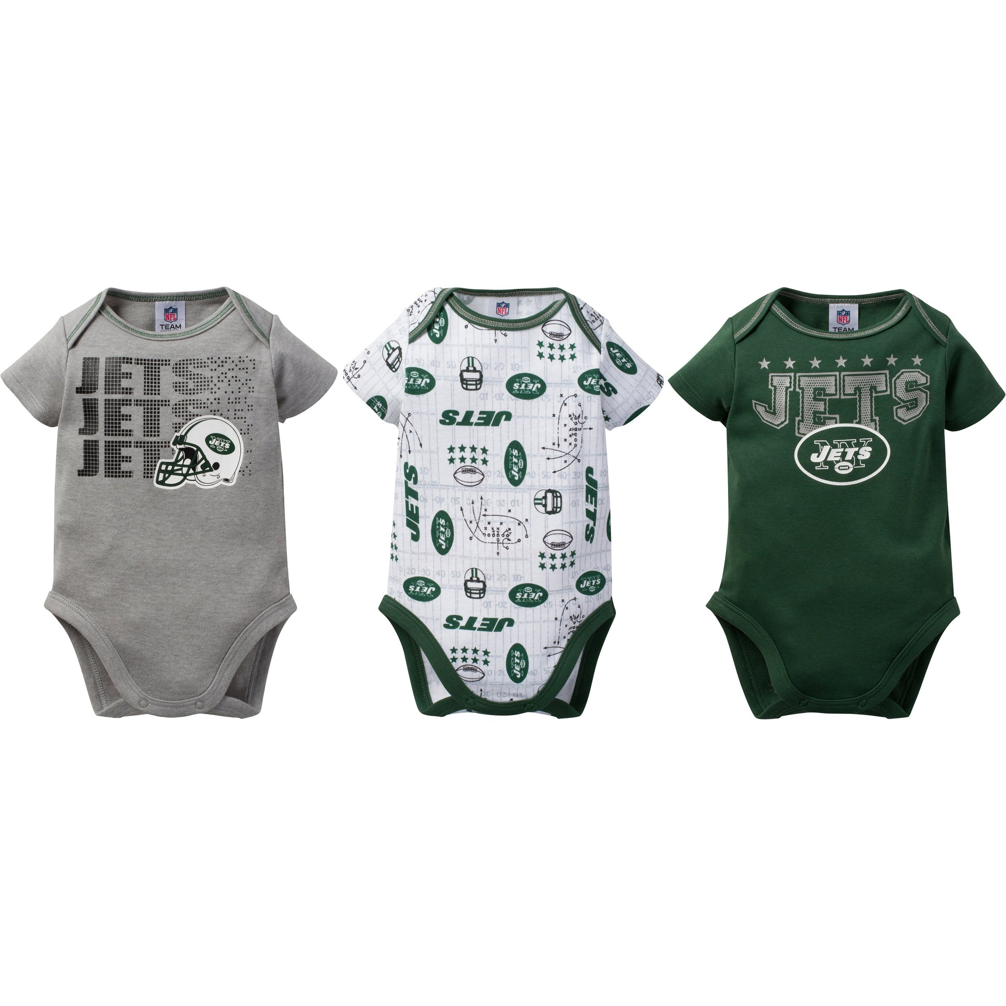 low priced a3713 fbf09 New York Jets Baby Clothes - Infant Girl & Boy Onesie ...