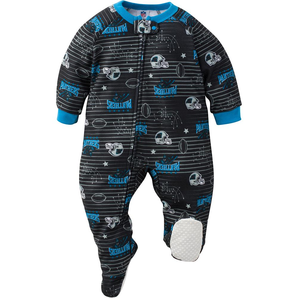 Panthers Baby Boy Blanket Sleeper-Gerber Childrenswear