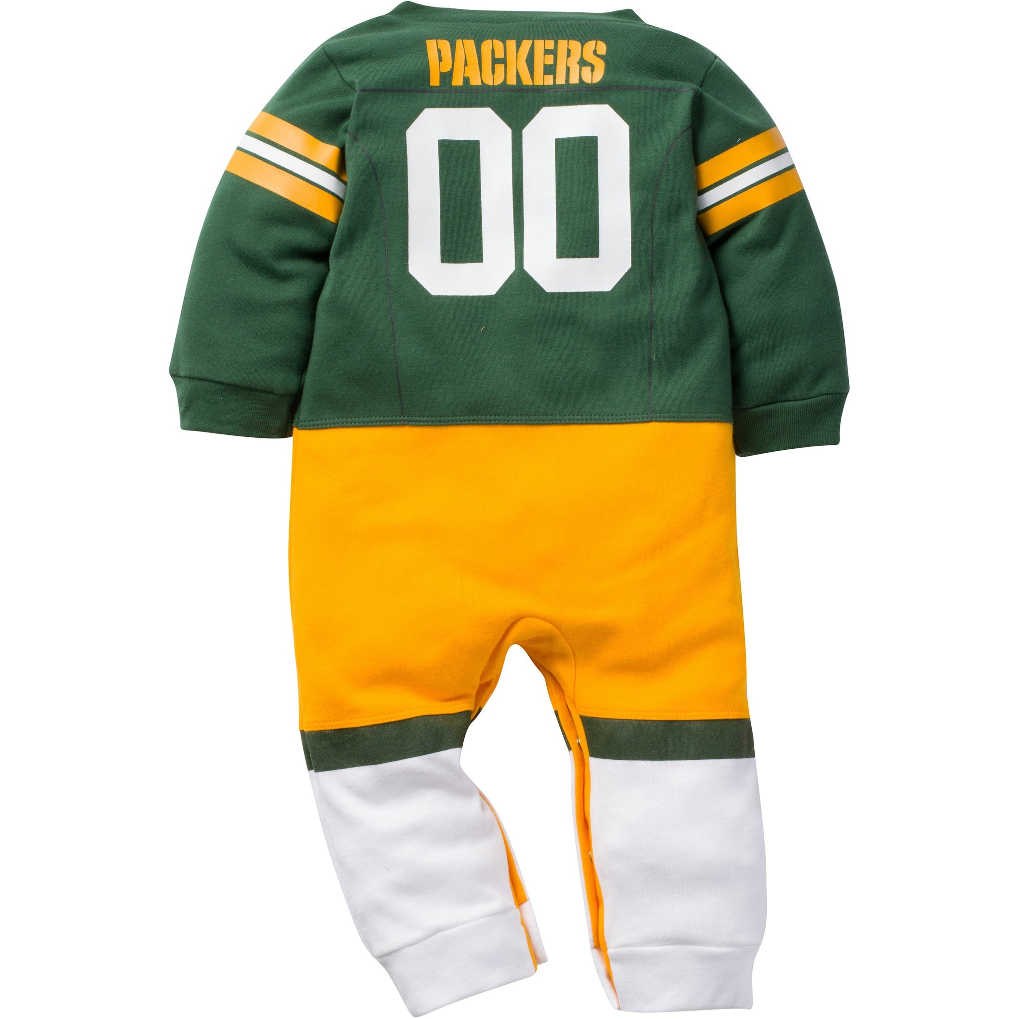 Green Bay Packers Infant Footysuit-Gerber Childrenswear