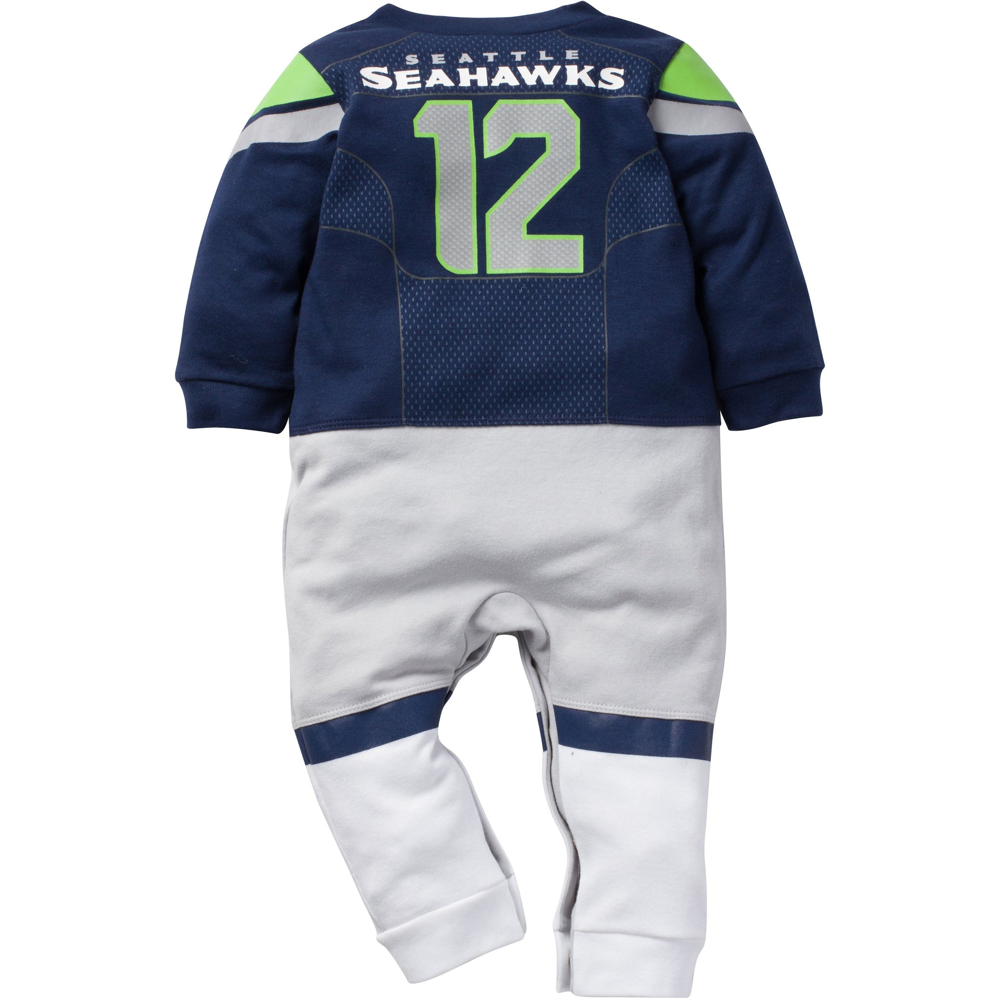 Seattle Seahawks Infant Footysuit-Gerber Childrenswear