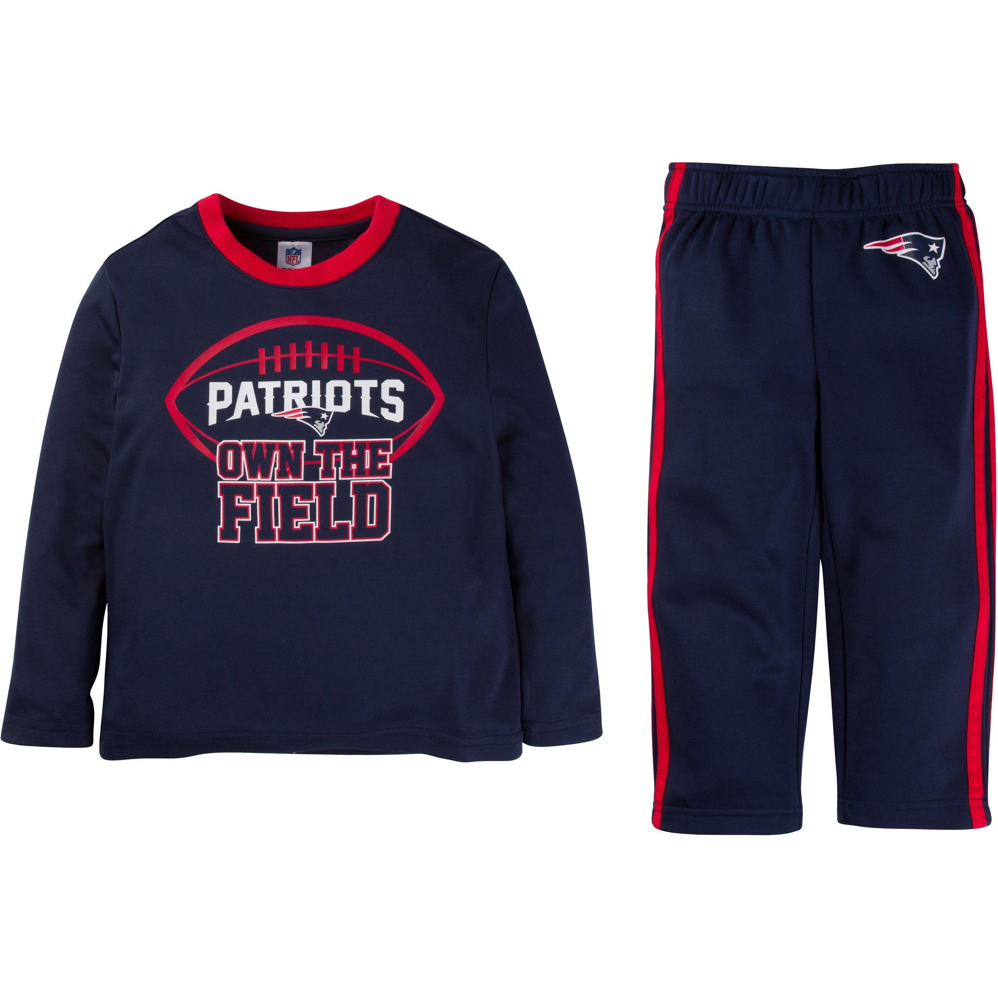 New England Patriots Boys 2 Pack Pant Set-Gerber Childrenswear