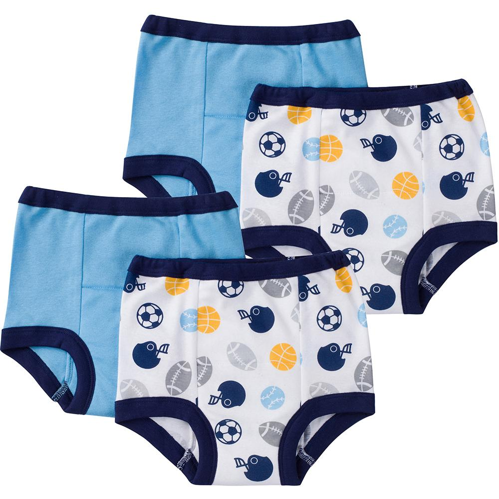 4-Pack Boys Sports Training Pant