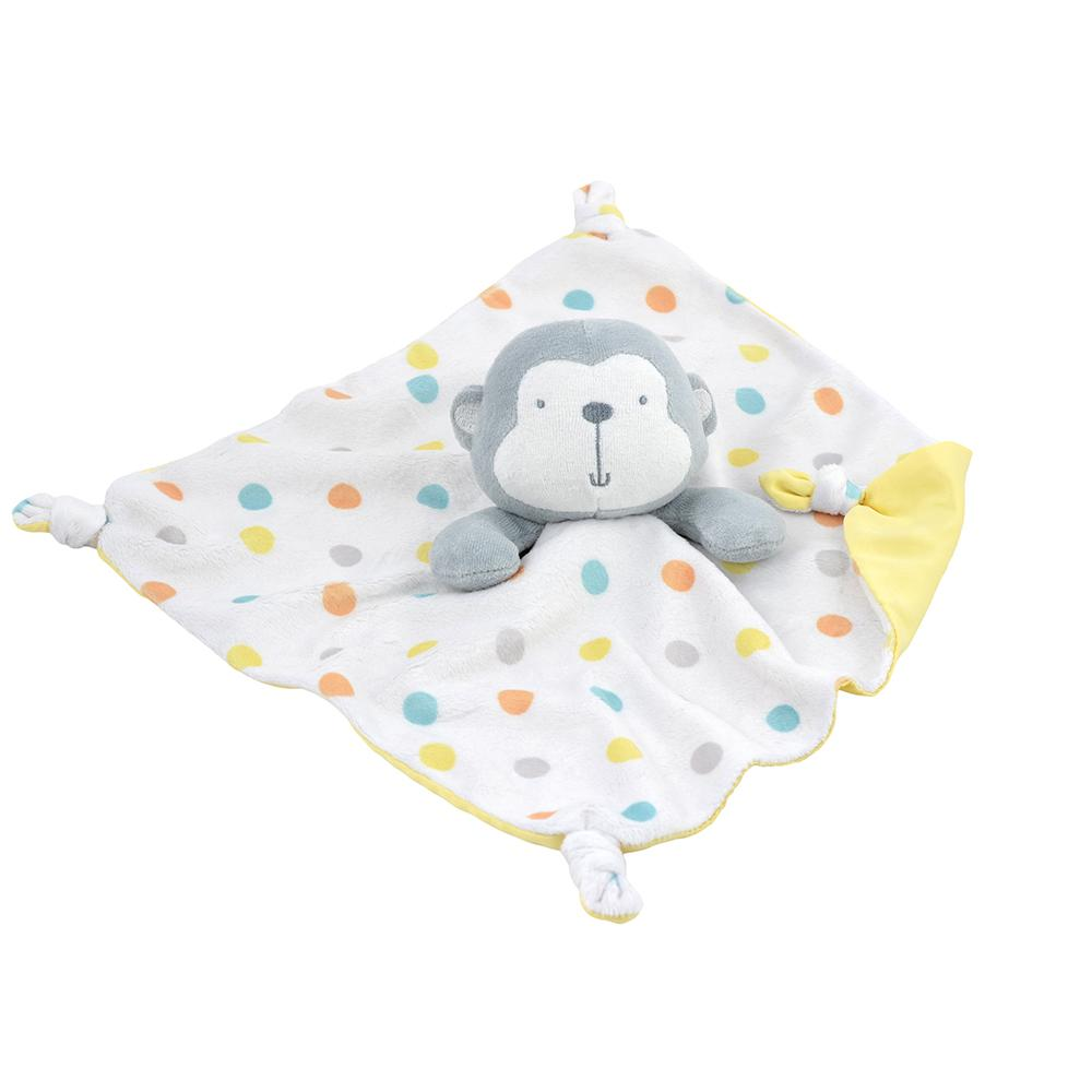 1-Pack Neutral Monkey Security Blanket