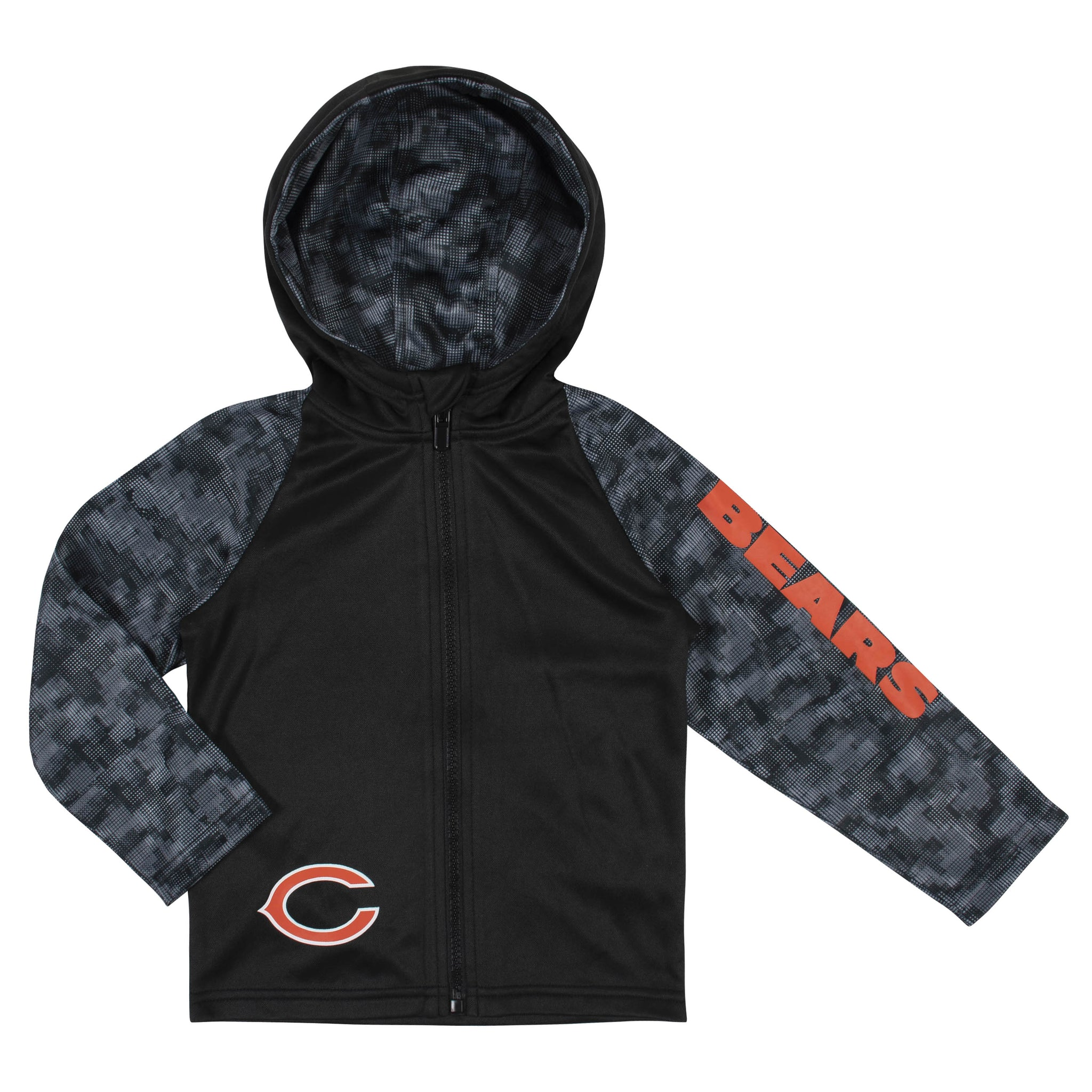 Toddler Boys Chicago Bears Hooded Jacket-Gerber Childrenswear