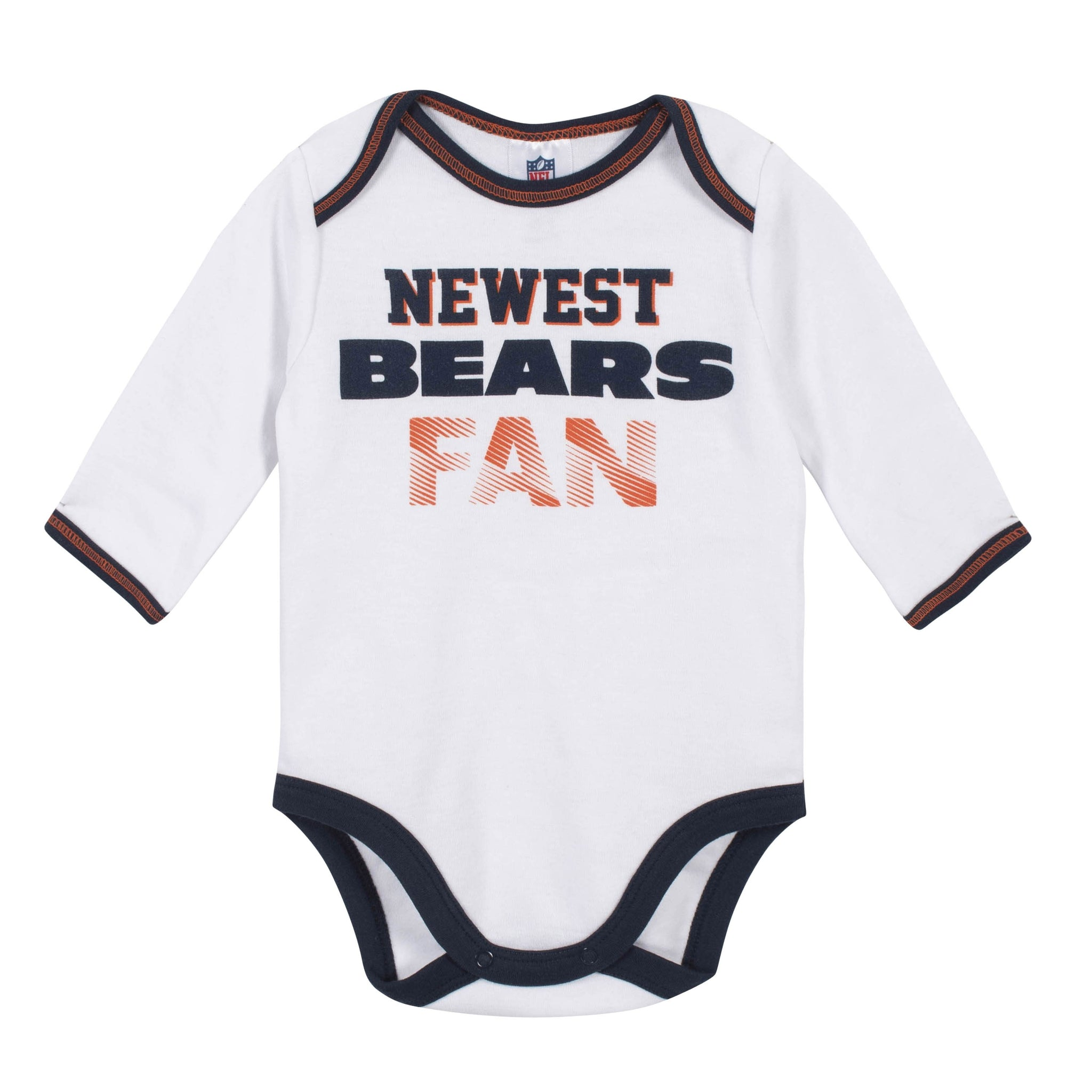 Baby Boys Chicago Bears 3-Piece Bodysuit, Pant and Cap Set