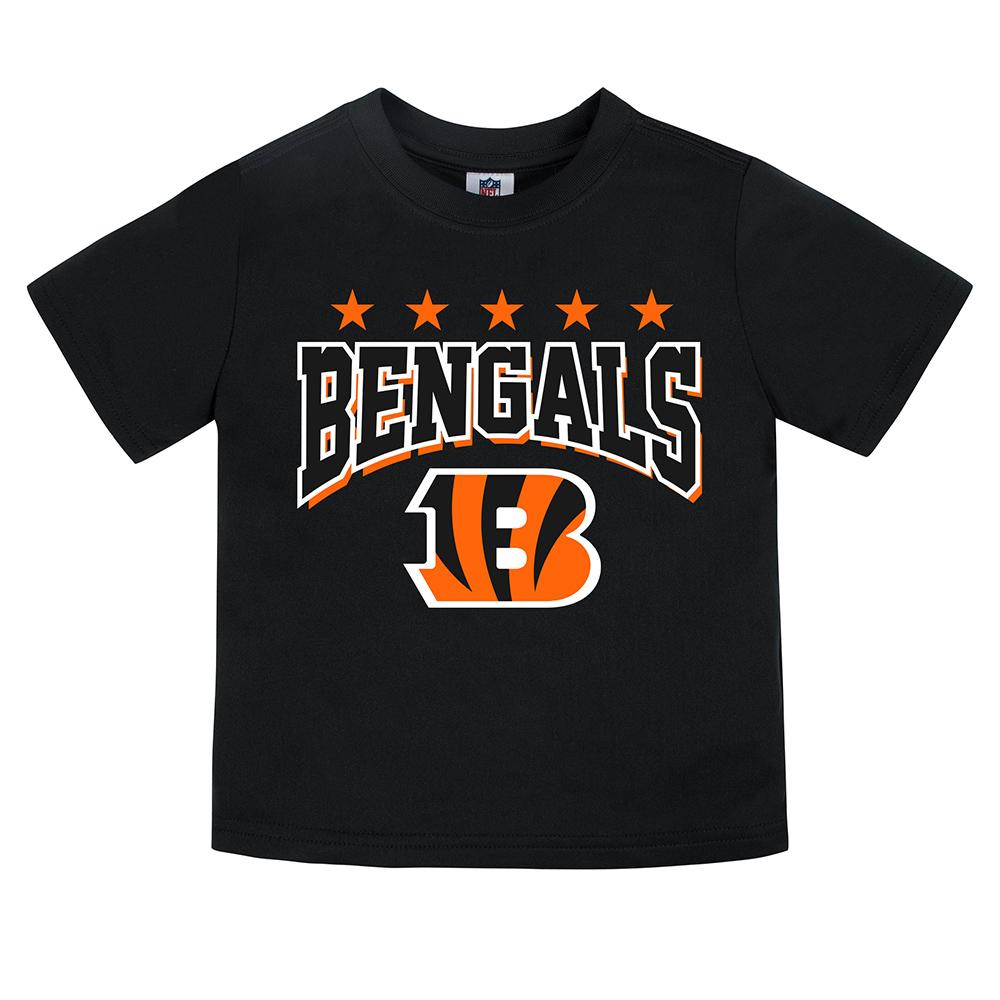 Bengals Toddler Boy Short Sleeve Tee-Gerber Childrenswear