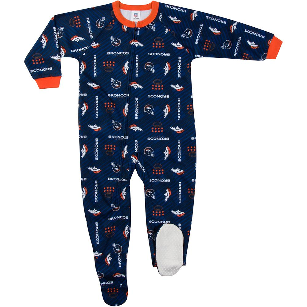 Broncos Toddler Blanket Sleeper-Gerber Childrenswear