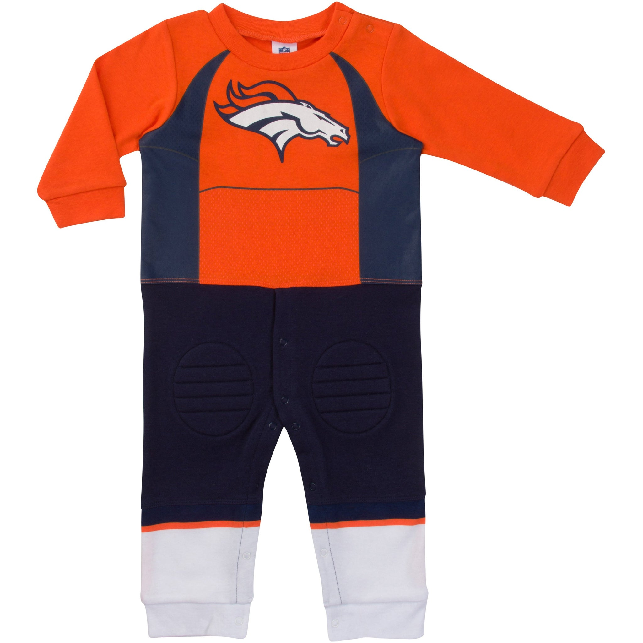 Denver Broncos Baby Boys Footysuit-Gerber Childrenswear