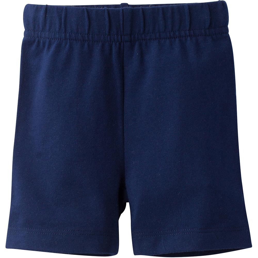 Girls Navy Biker Shorts