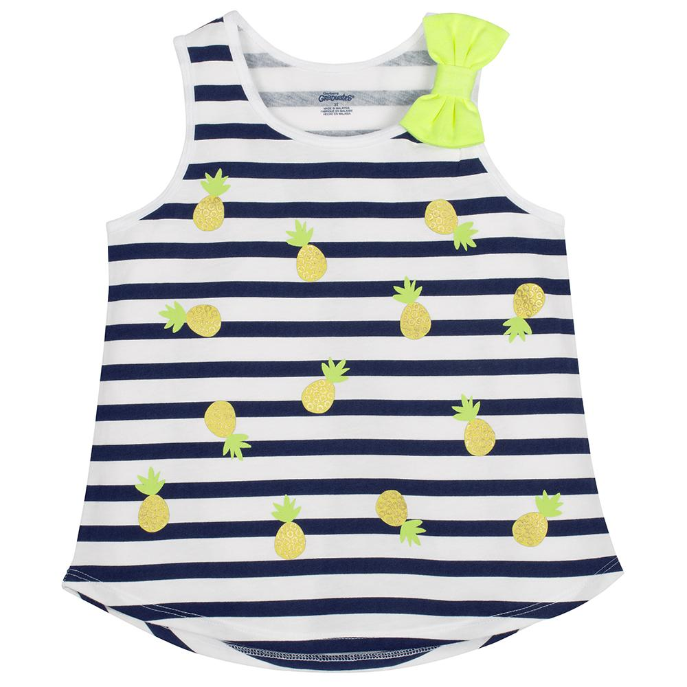 1-Pack Girls Pineapple Top