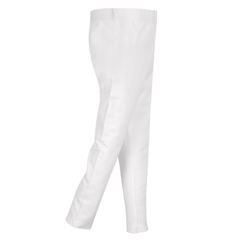1-Pack Girls White Leggings
