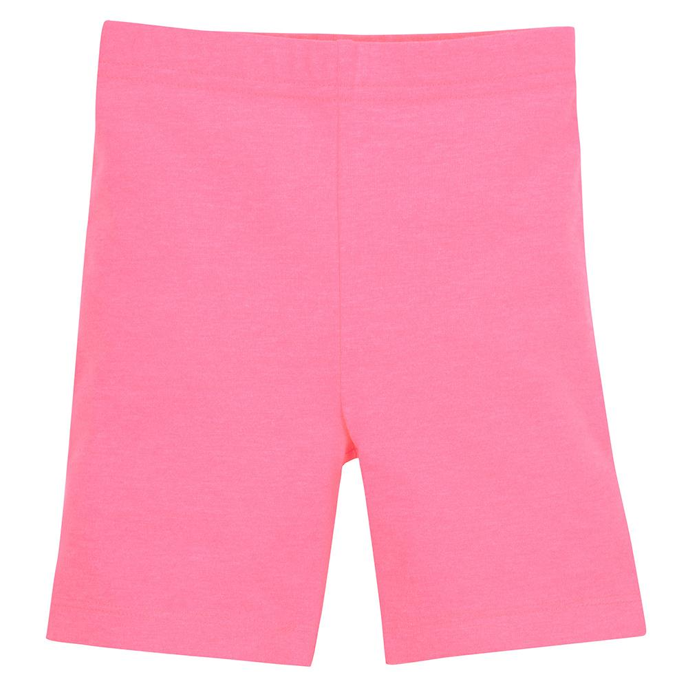 1-Pack Girls Pink Biker Shorts