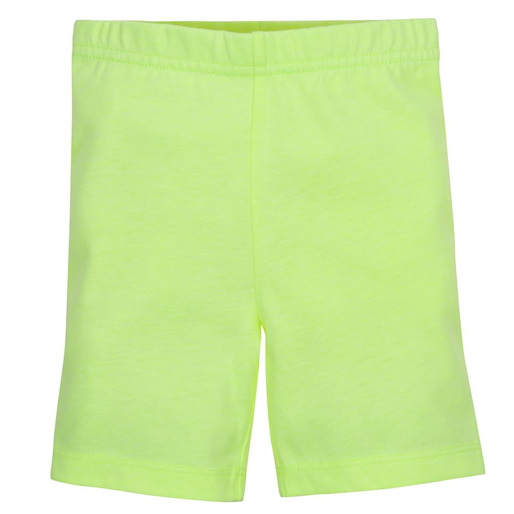1-Pack Girls Bright Yellow Shorts