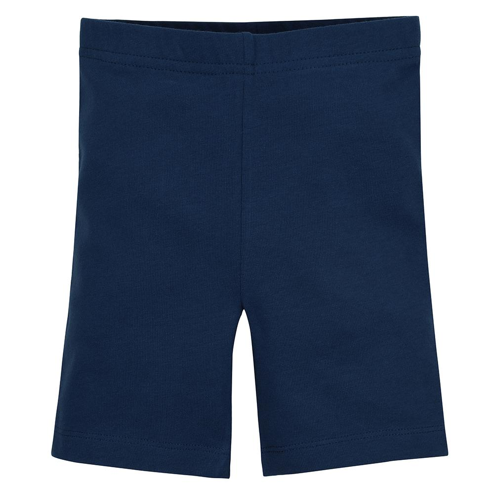 1-Pack Girls Navy Biker Shorts