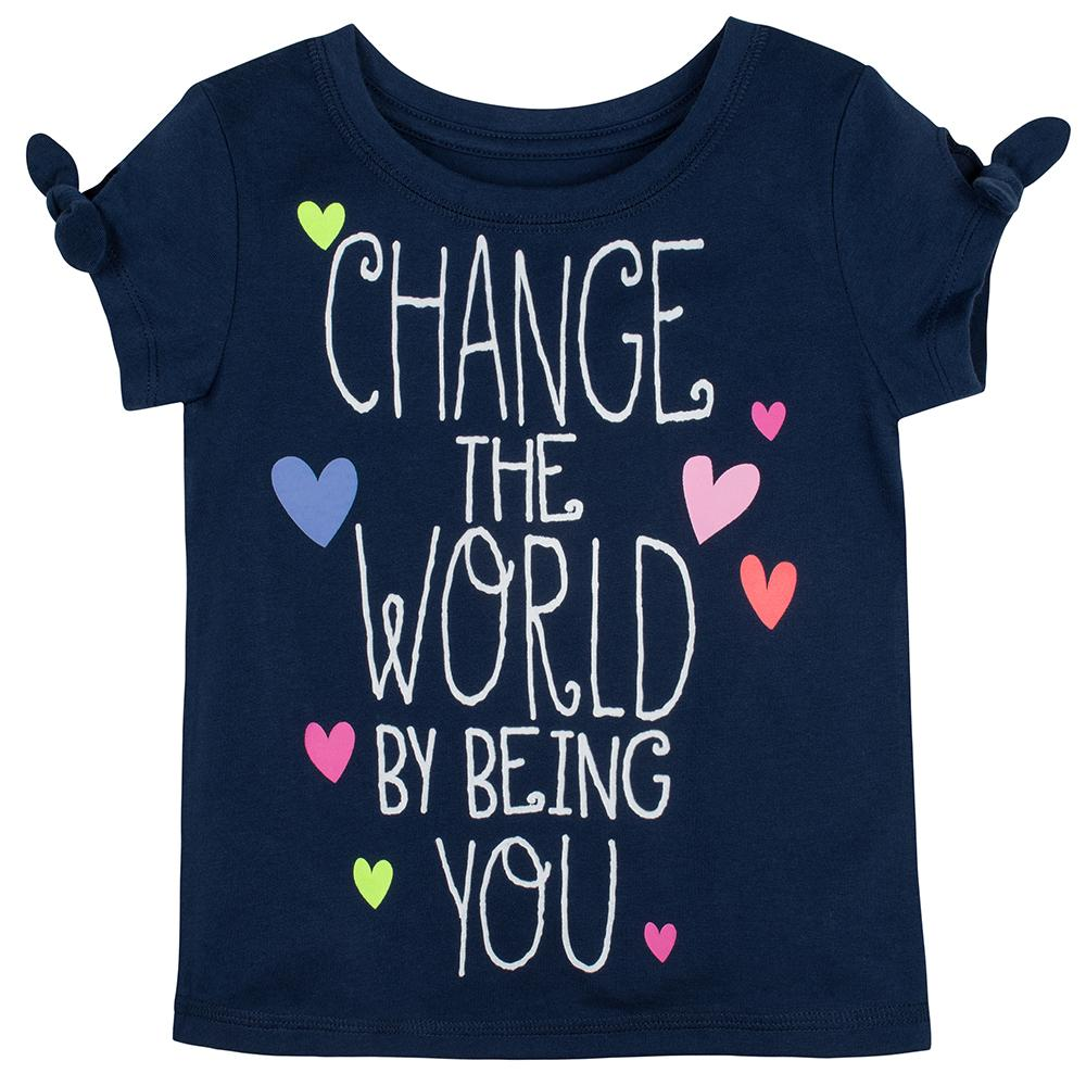1-Pack Girls Change the World Top