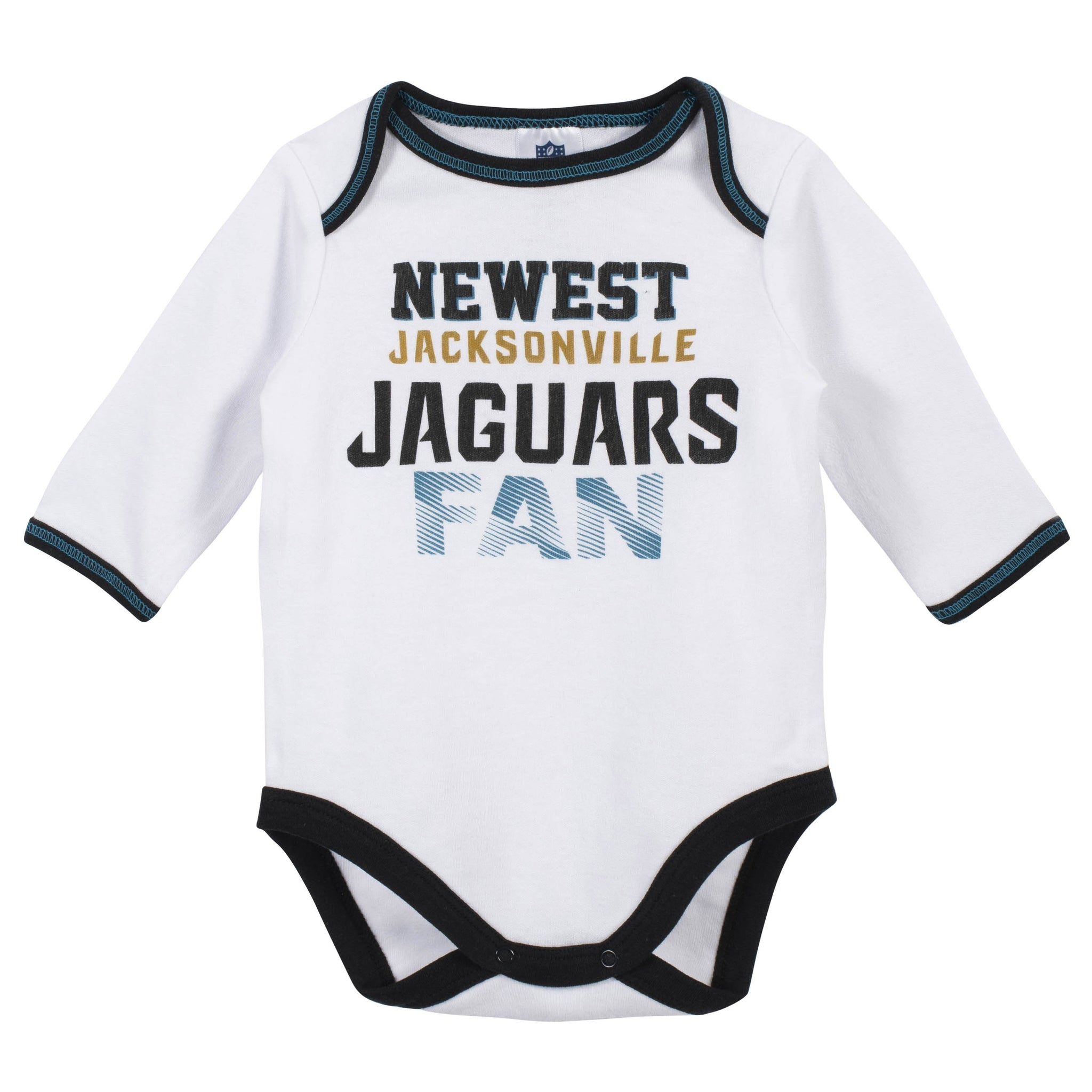 Baby Boys Jacksonville Jaguars 3-Piece Bodysuit, Pant and Cap Set