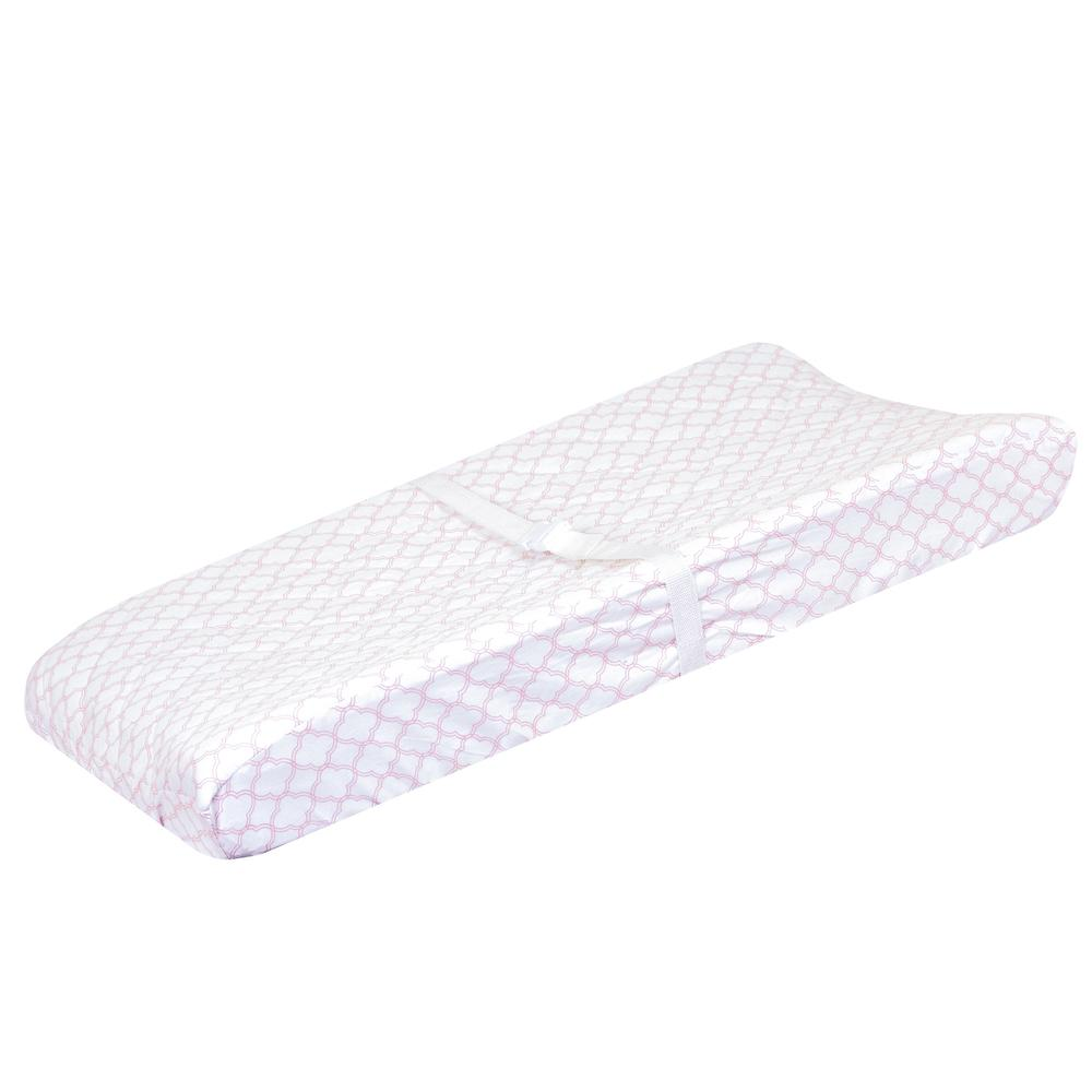 Just Born Dream Changing Pad Cover, Petal Pink-Gerber Childrenswear