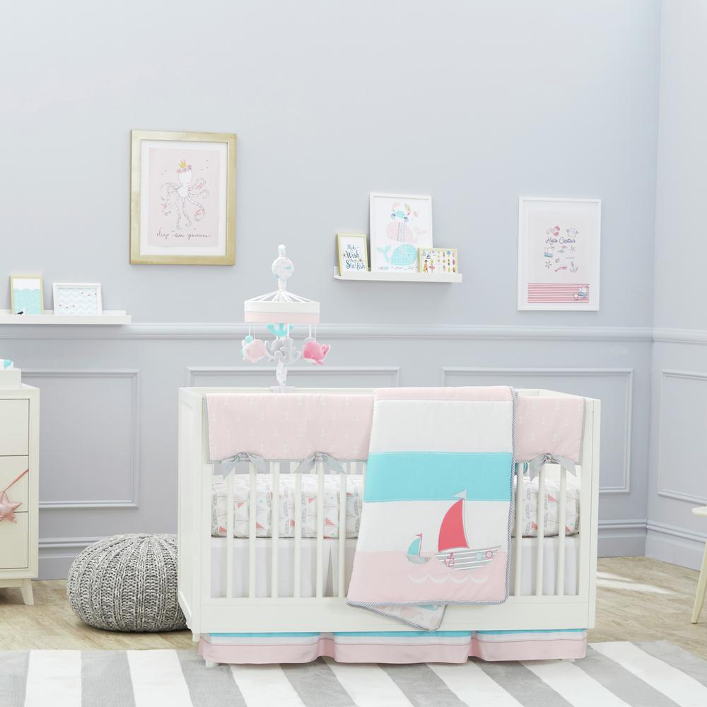 Just Born® Sail Into Your Dreams 3-Piece Bedding Set