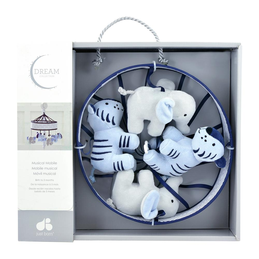 Just Born Dream Musical Mobile, Gray/Navy-Gerber Childrenswear