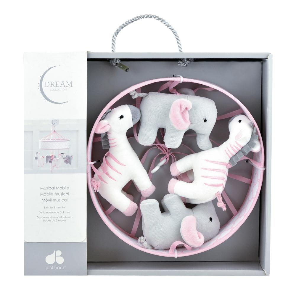 Dream Musical Mobile, Pink-Gerber Childrenswear