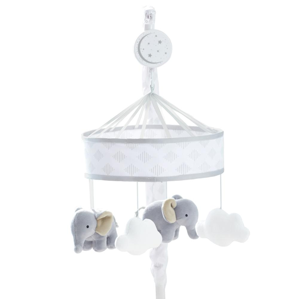 Just Born Dream Musical Mobile, Gray/White-Gerber Childrenswear
