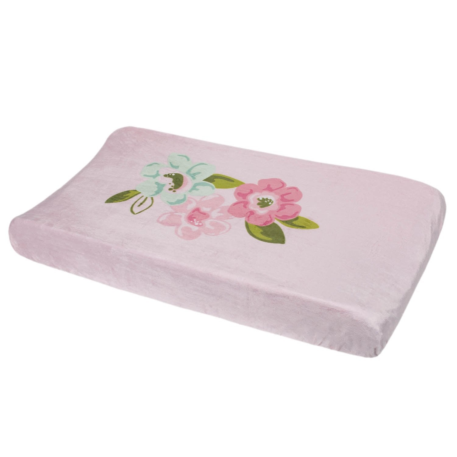 Just Born One World Collection Changing Pad Cover - Blossom-Gerber Childrenswear