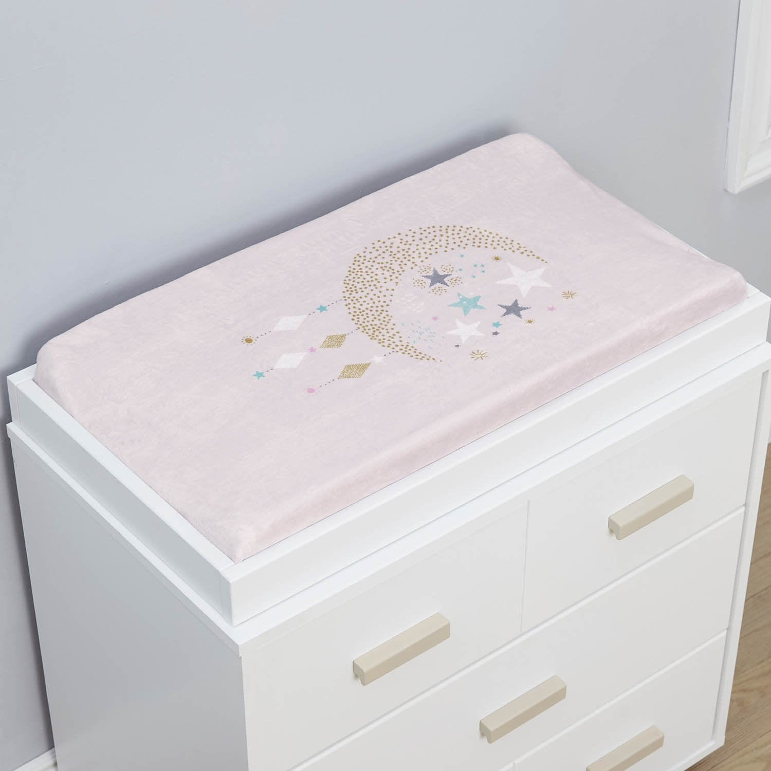 Just Born One World Collection Changing Pad Cover - Love & Sugar-Gerber Childrenswear