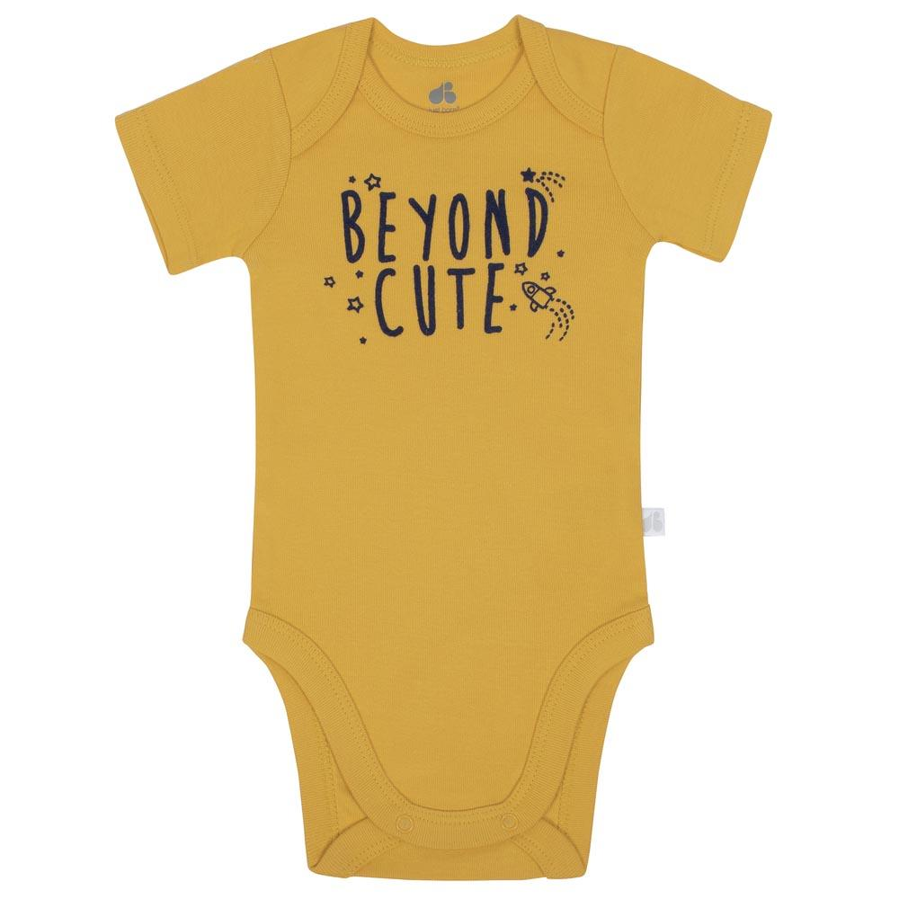 Baby Boys Space 4-Pack Organic Short-Sleeve Bodysuits-Gerber Childrenswear