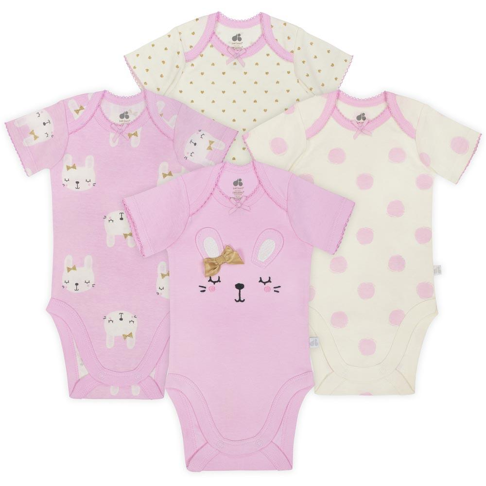 Just Born Baby Girl Bodysuits