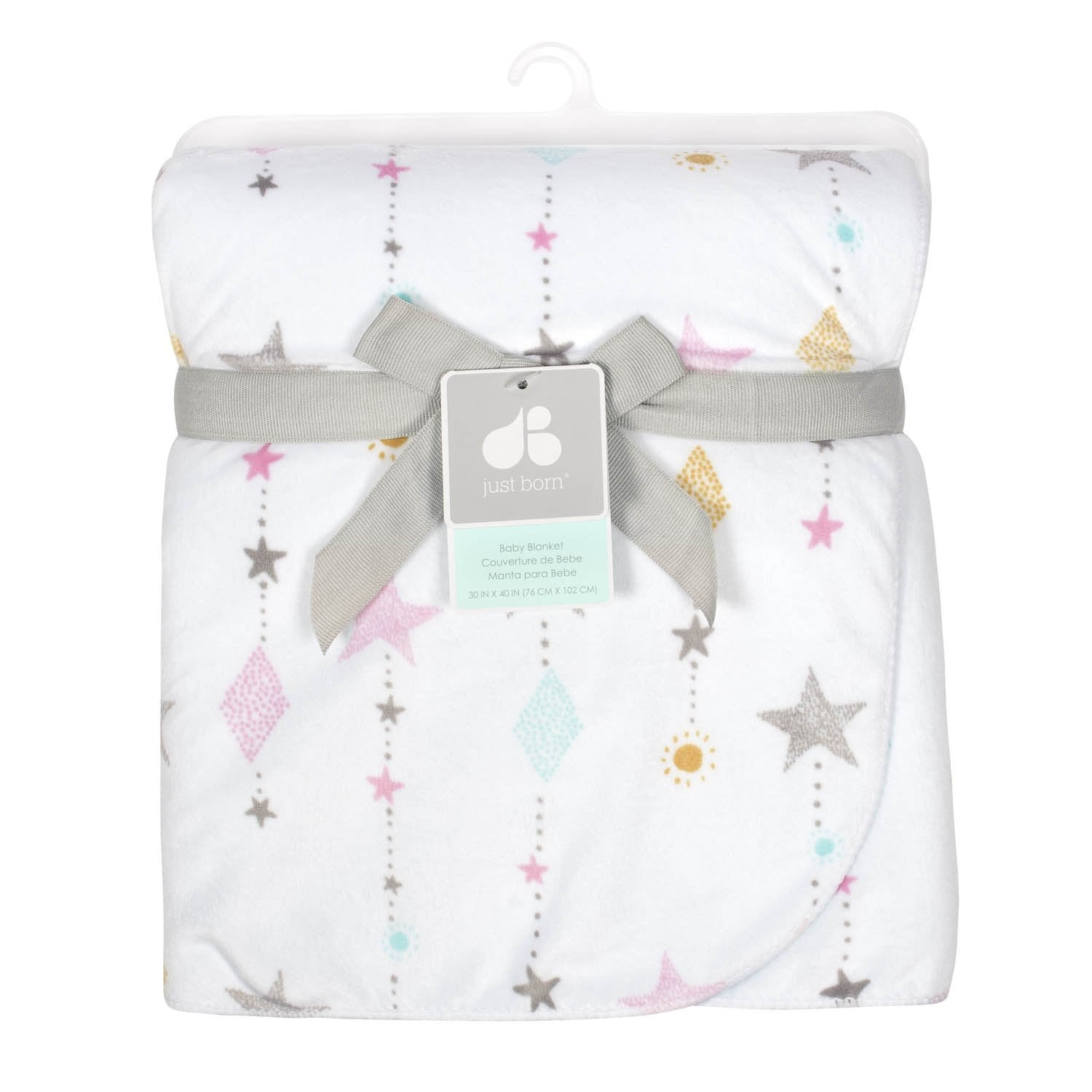 Just Born One World Collection Plush Blanket - Love & Sugar-Gerber Childrenswear