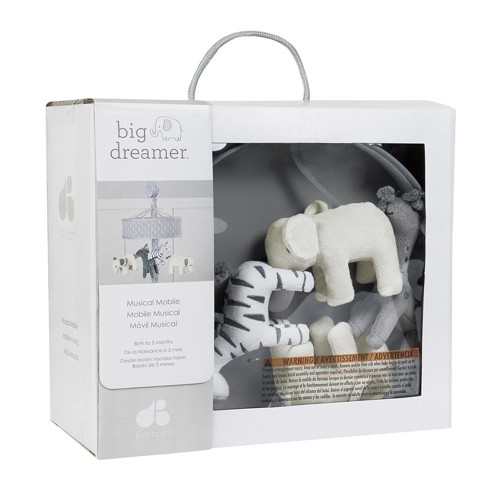 "Just Born ""Big Dreamer"" Neutral Musical Mobile-Gerber Childrenswear"