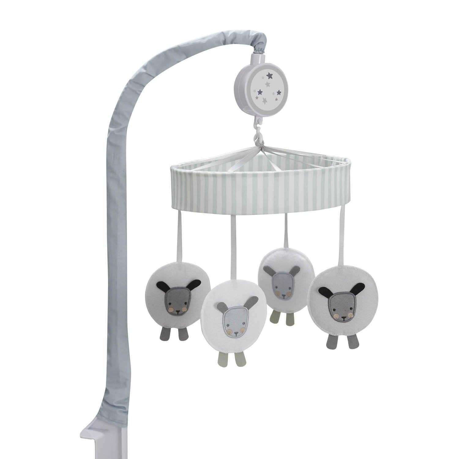 Just Born One World Collection Musical Mobile - Counting Sheep-Gerber Childrenswear